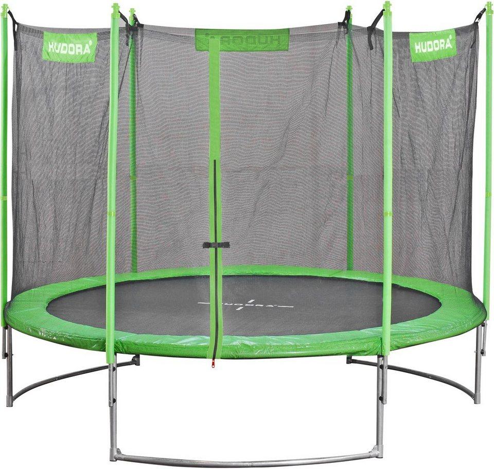 hudora gartentrampolin family trampolin 250 250 cm. Black Bedroom Furniture Sets. Home Design Ideas