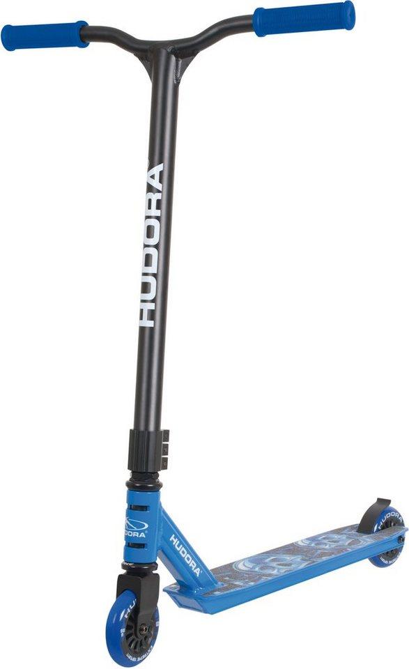 Hudora Stuntscooter, »Stunt Scooter XQ-12 blau« in blau-schwarz