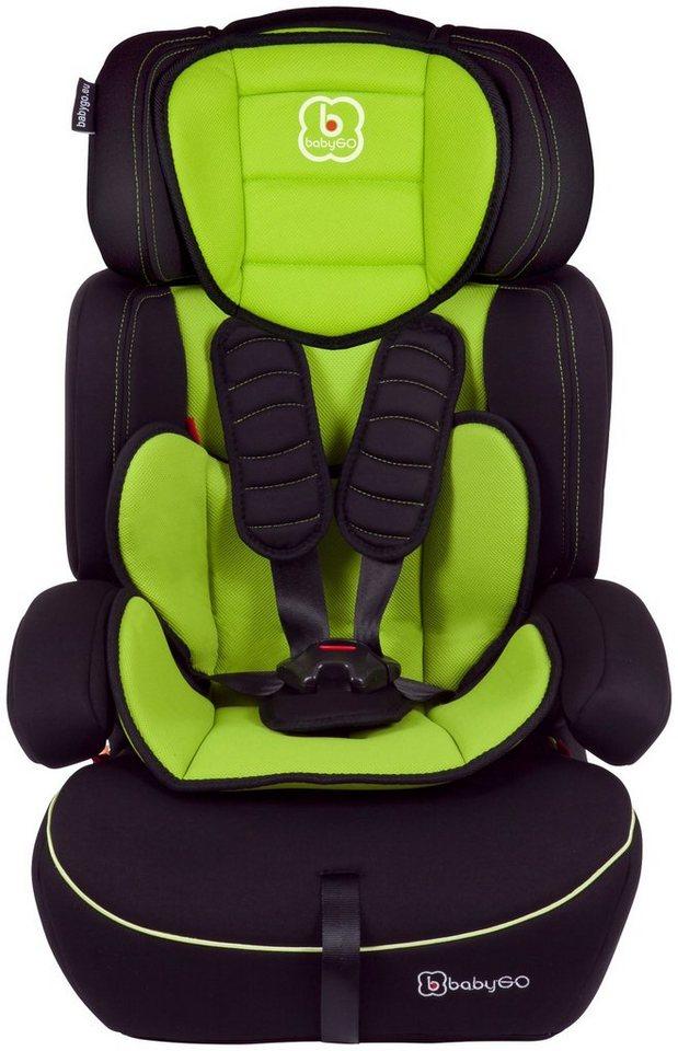 Kindersitz »Freemove«, 9 - 36 kg, Energie-absorbierende Kopfpolsterung in grün