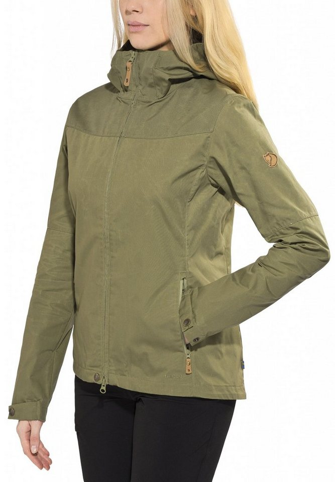 FJÄLLRÄVEN Outdoorjacke »Stina Jacket Women« in grün