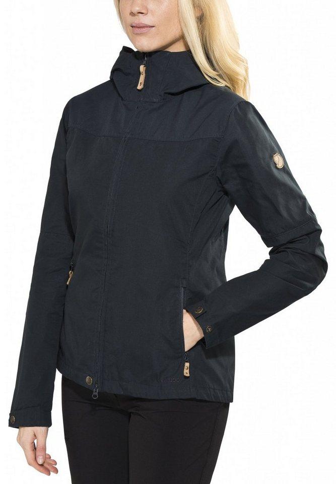 Fjällräven Outdoorjacke »Stina Jacket Women« in blau