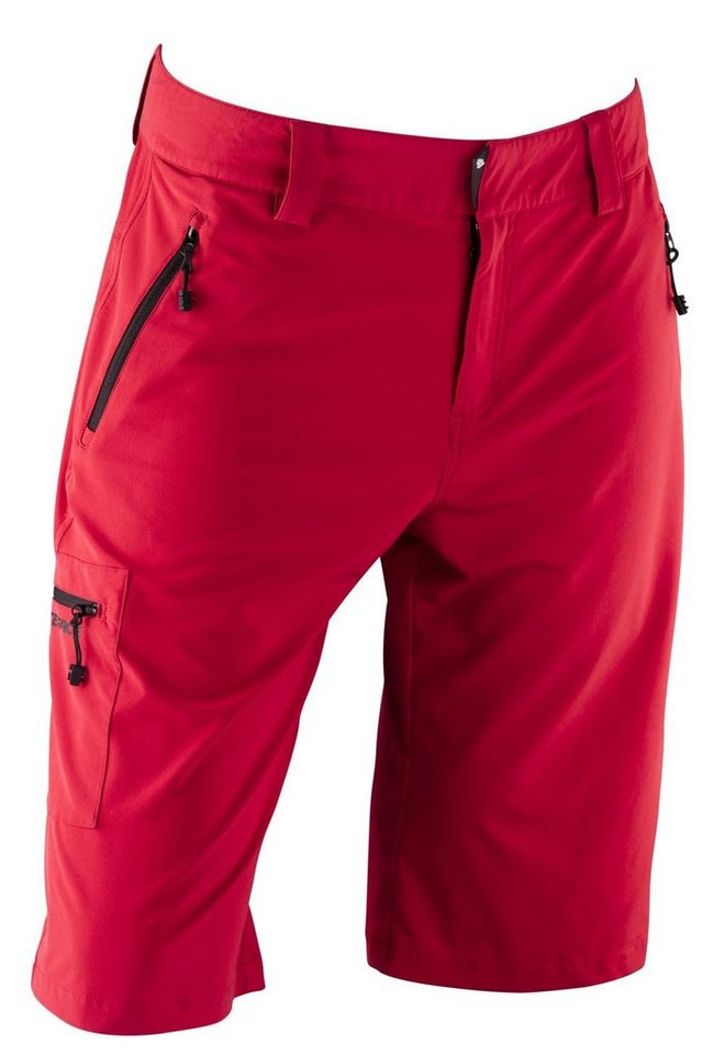 Race Face Radhose »Trigger Shorts Men« in rot