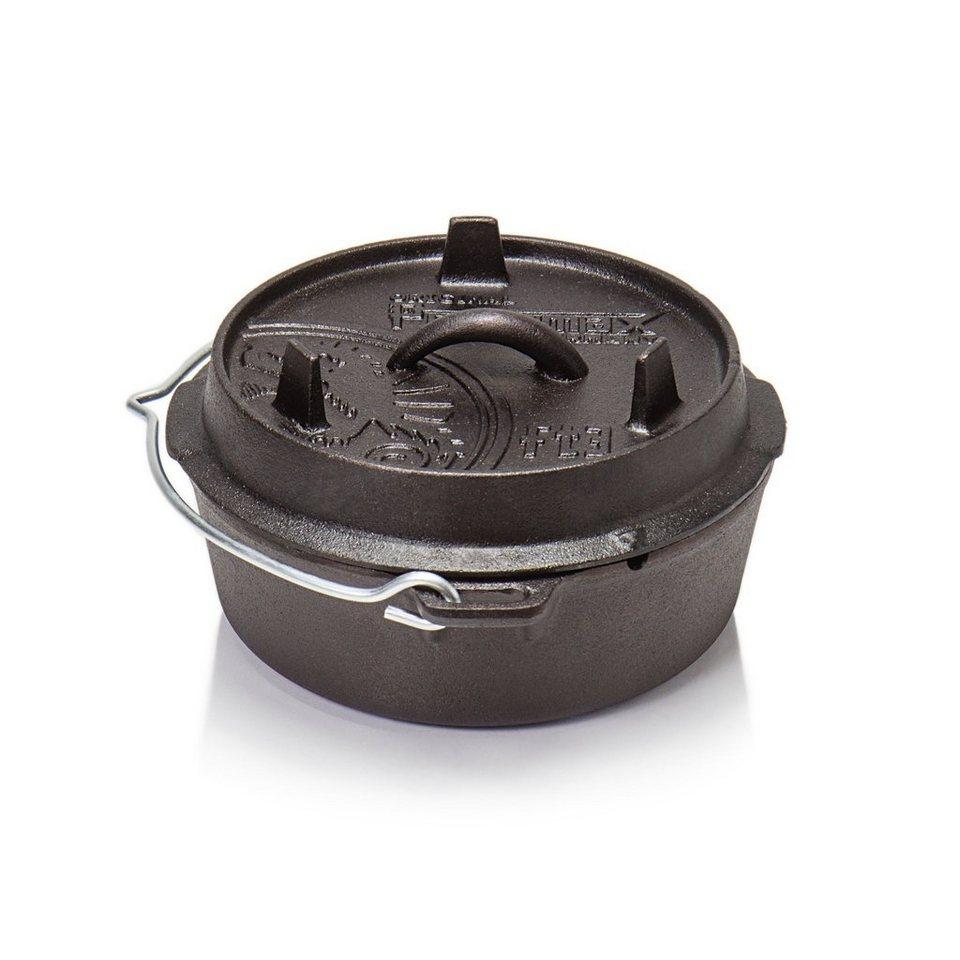 Petromax Camping-Geschirr »Feuertopf ohne Füße/ft 3« in schwarz