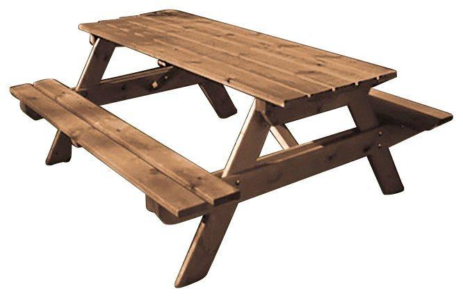 Picknicktisch in natur