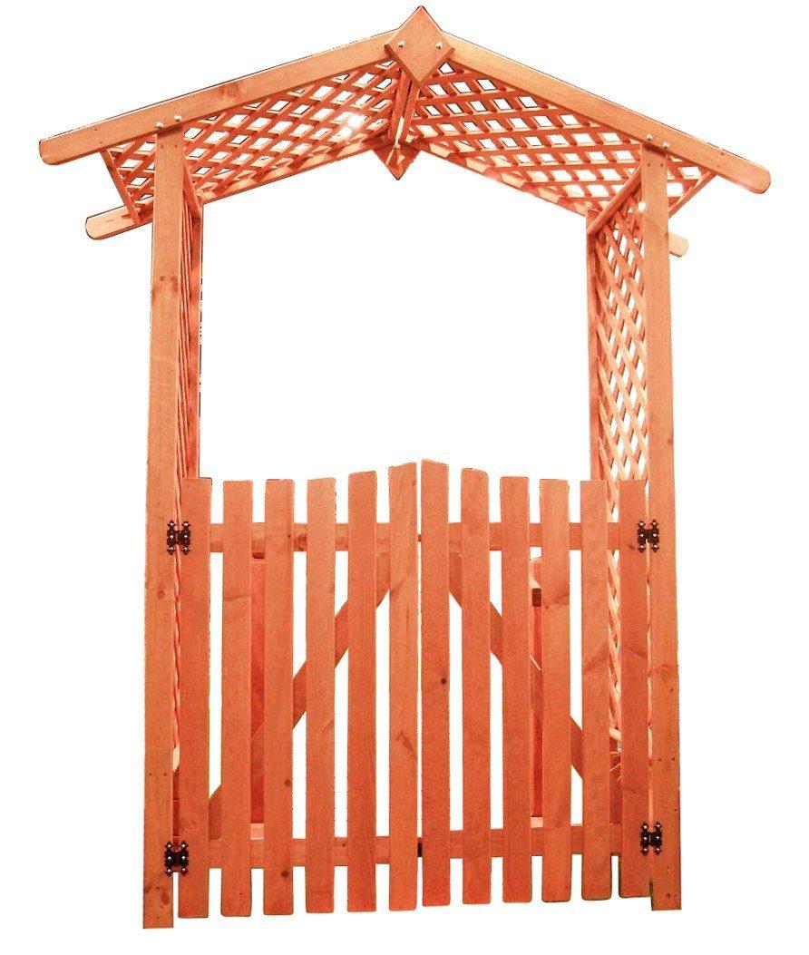 Promadino Set: Holzrosenbogen