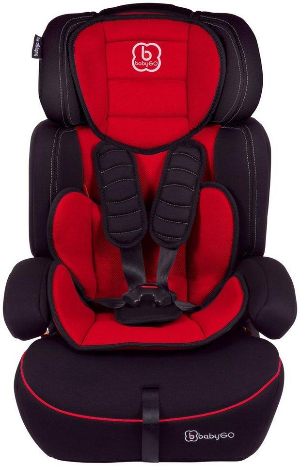 Kindersitz »Freemove«, 9 - 36 kg, Energie-absorbierende Kopfpolsterung in rot