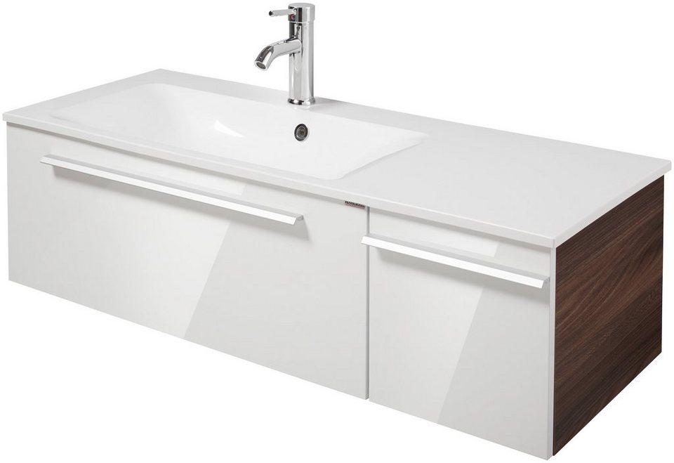 Waschtisch »Yega«, Breite 110 cm, (2-tlg.) in weiß