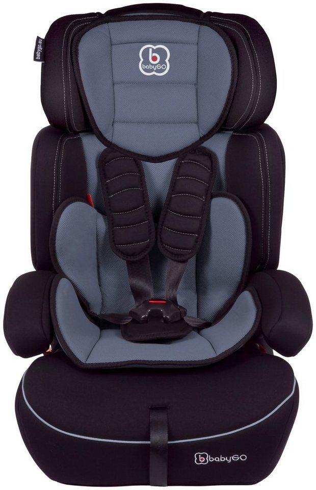 Kindersitz »Freemove«, 9 - 36 kg, Energie-absorbierende Kopfpolsterung in grau