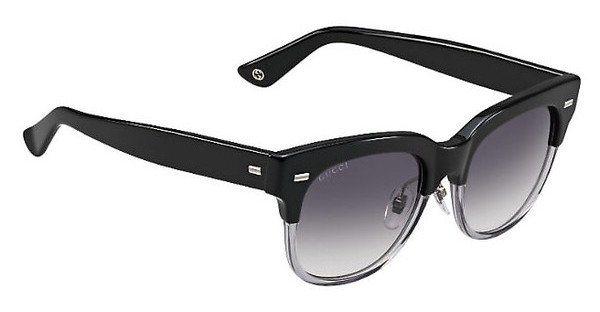 Gucci Damen Sonnenbrille » GG 3744/S« in X9H/9C - schwarz/grau