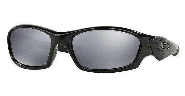 Oakley Herren Sonnenbrille »STRAIGHT JACKET OO9039« in 04-325 - schwarz/schwarz