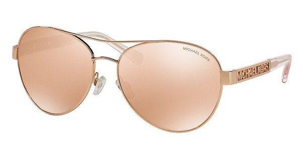 Michael Kors Damen Sonnenbrille »CAGLIARI MK5003« in 1003R1 - rosa/ gold