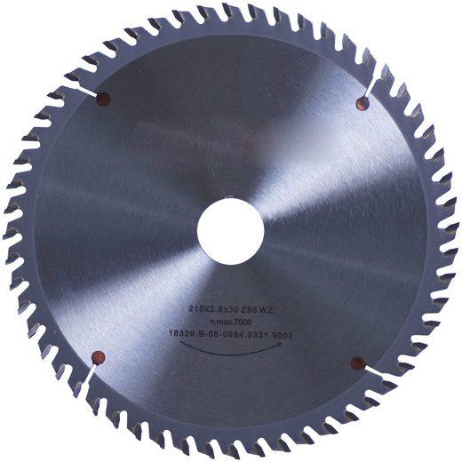 CONNEX Kreissägeblatt Handkreissägeblatt, HM, fein, Ø 210 mm