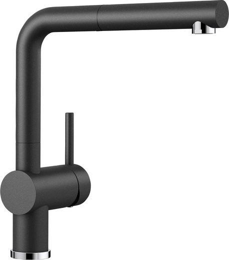 Blanco Küchenarmatur »LINUS-S« Hochdruck, mit ausziehbarem Auslauf
