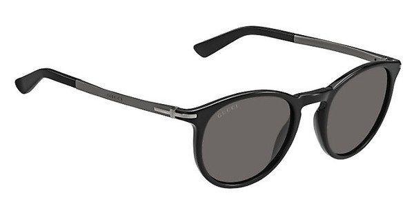 Gucci Herren Sonnenbrille » GG 1110/S« in B2X/NR - schwarz/grau