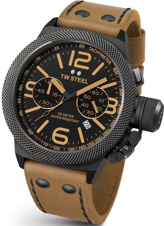 TW Steel Chronograph »CS44« in cognac