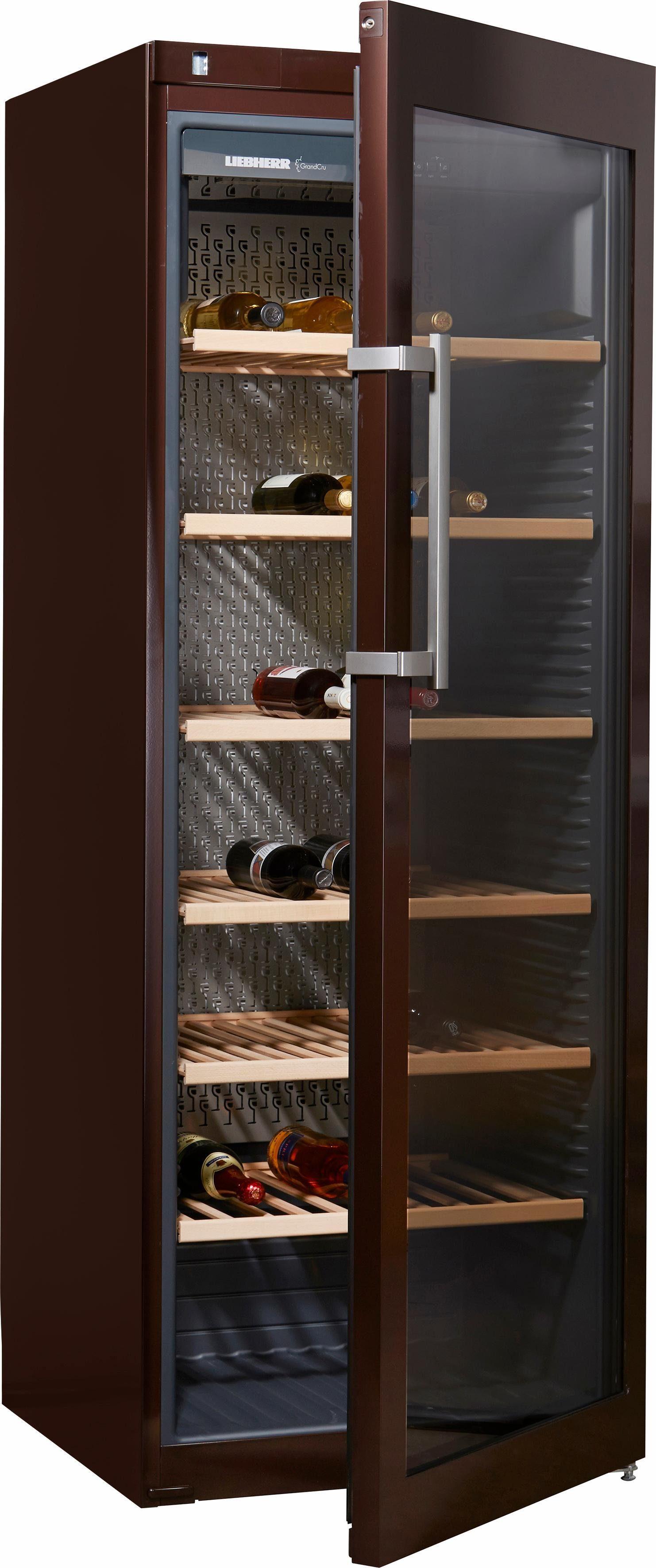 Liebherr Weinkühlschrank WKt 5552-21, A+, 192 cm, für 253 Bordeauxflaschen á 0,75l