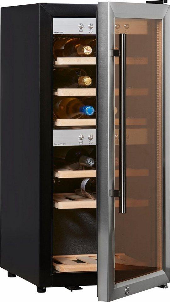 CASO Design Weinkühlschrank »WineComfort 24«, Höhe 87,5 cm, für 24 ...