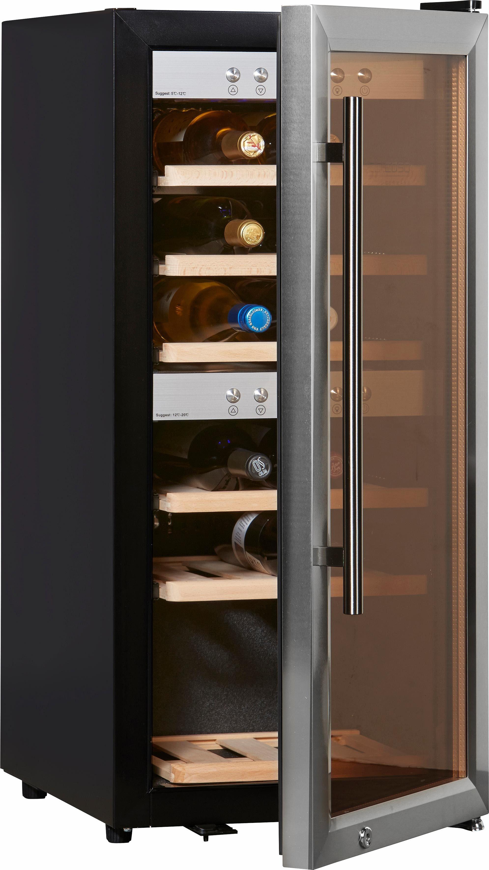 CASO Design Weinkühlschrank »WineMaster 24«, Höhe 87,5 cm, für 24 Bordeauxflaschen á 0,75l