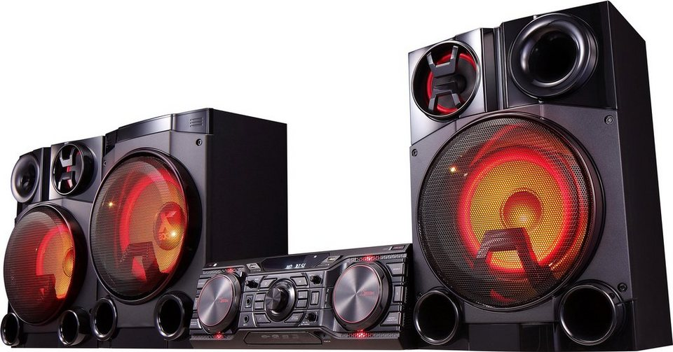LG CM8460 Stereoanlage, Bluetooth, RDS, 2x USB in schwarz