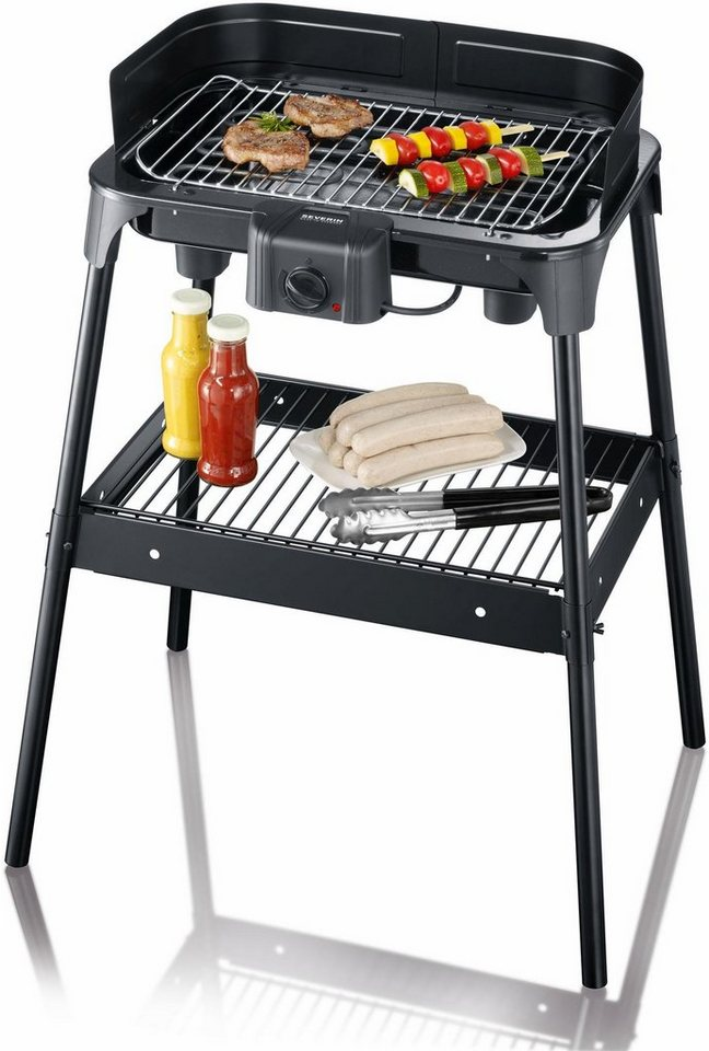 severin grill pg 2792 2500 watt online kaufen otto. Black Bedroom Furniture Sets. Home Design Ideas