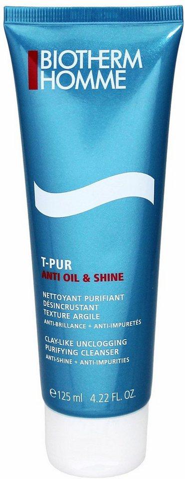 Biotherm Homme, »T-Pur Anti Oil & Wet«, Klärendes Reinigungsgel