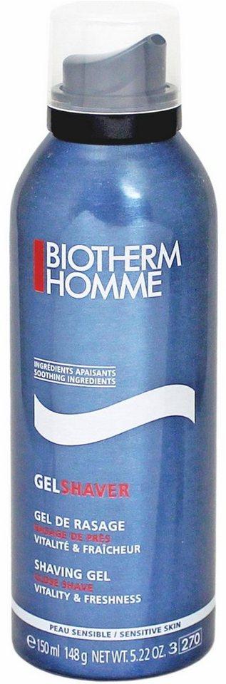 Biotherm Homme, »Gel Shaver«, Selbstaufschäumendes Rasiergel