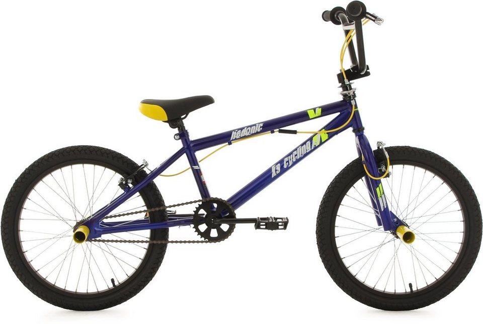 ks cycling bmx fahrrad 20 zoll blau gelb hedonic. Black Bedroom Furniture Sets. Home Design Ideas