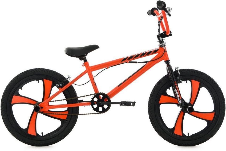 ks cycling bmx fahrrad 20 zoll orange cobalt otto. Black Bedroom Furniture Sets. Home Design Ideas