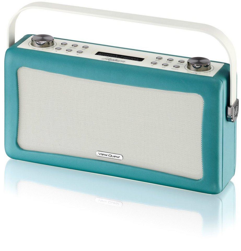 View Quest DAB+ Radio mit Bluetooth-Funktion »Hepburn« in Smaragdgrün