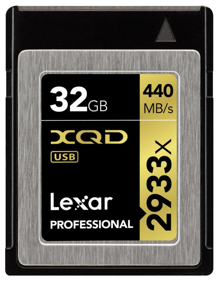 Lexar Speicherkarten »XQD Card 32GB 2933x Professional«