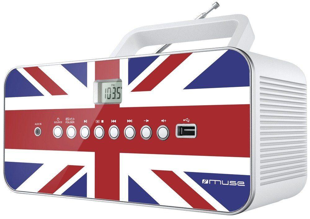 Muse Portables Radio im England Design »M-28 UK«