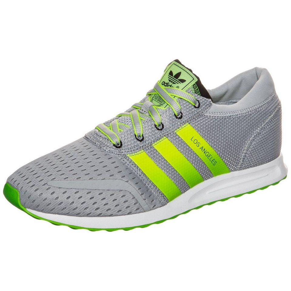 adidas Originals Los Angeles Sneaker Herren in grau / neongelb