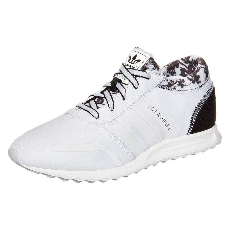 adidas Originals Los Angeles Sneaker Damen in weiß / schwarz