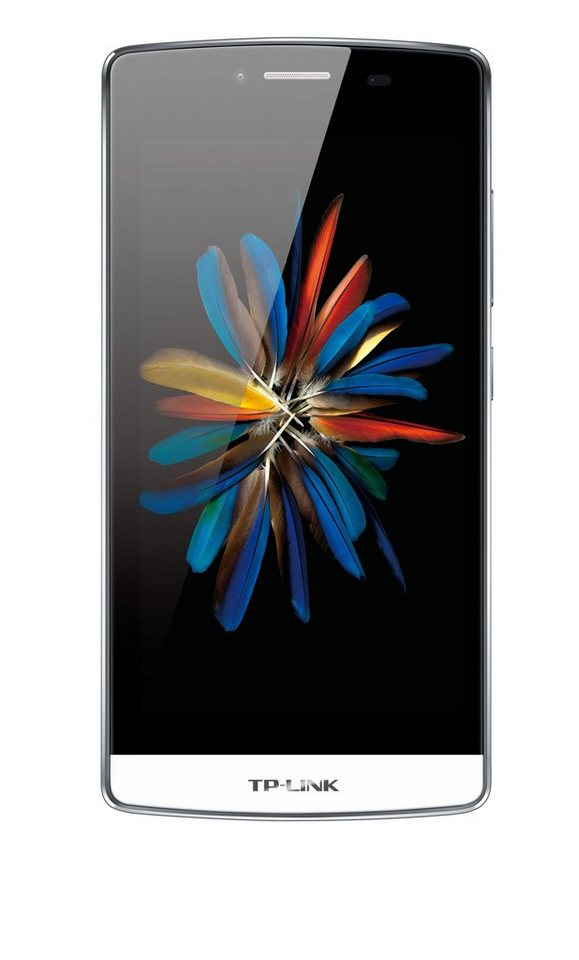 """TP-LINK Neffos C5 Smartphone inkl. Powerbank »Quad Core, 12,7cm (5""""), 16GB, 2GB, Android 5.1« in weiß"""