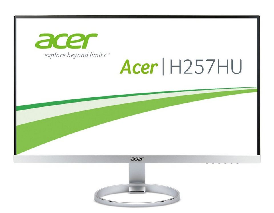 "ACER H257HUsmidpx »64 cm (25"") WQHD Display« in silber"