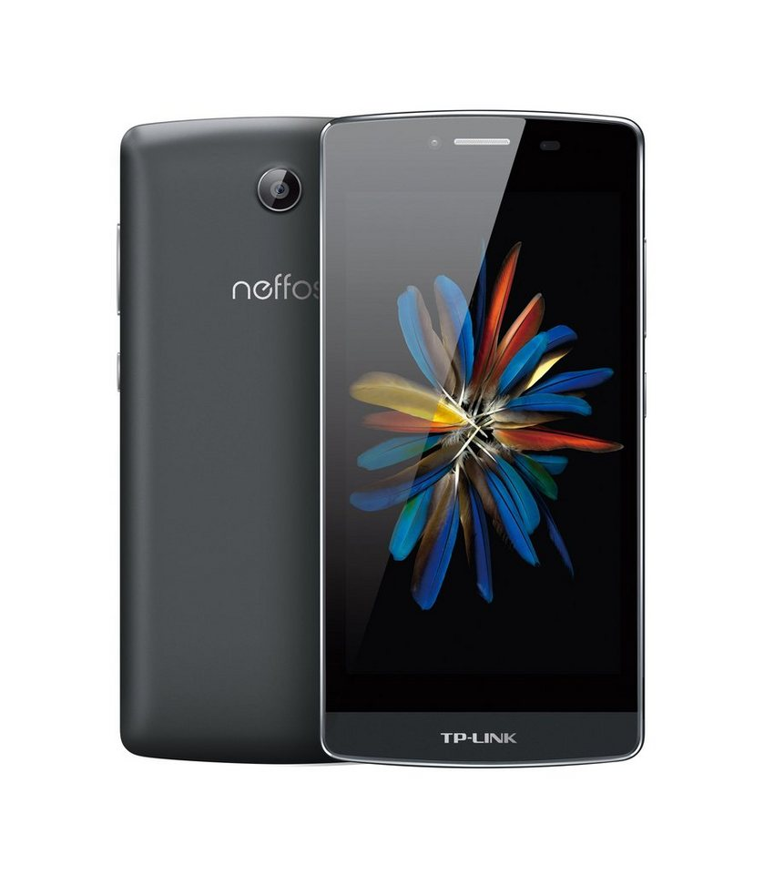 """TP-LINK Neffos C5 Smartphone inkl. Powerbank »Quad Core, 12,7cm (5""""), 16GB, 2GB, Android 5.1« in schwarz"""