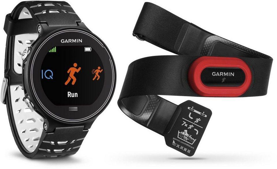 Garmin Sportuhr »GPS Forerunner 630 HR inkl. Brustgurt« in Schwarz