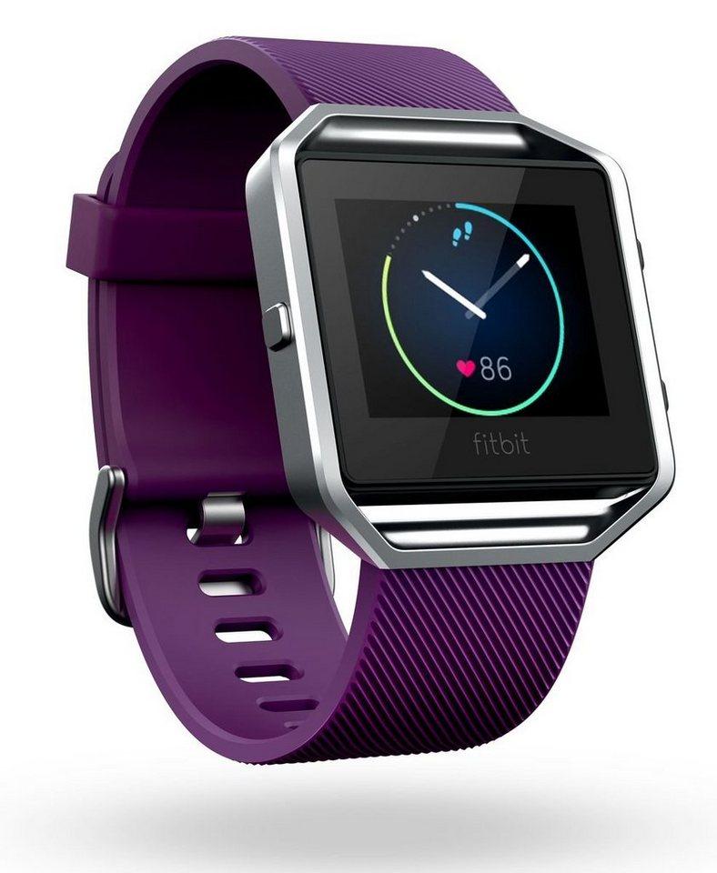 fitbit Smartwatch »BLAZE Large« in Lila-Silber