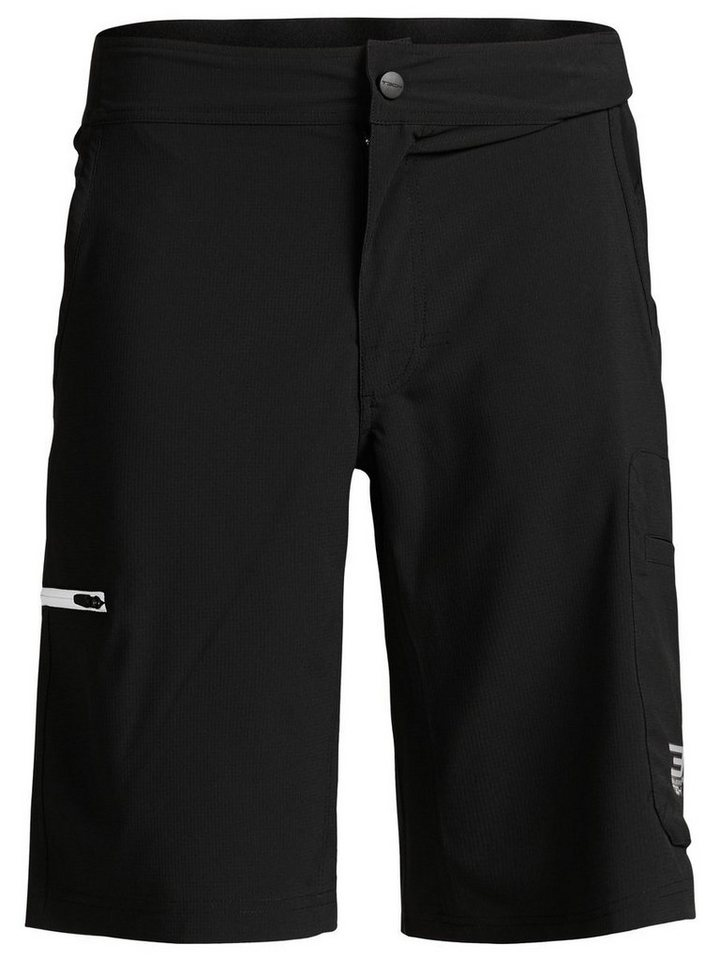 Jack & Jones Sport- Cargoshorts in Black