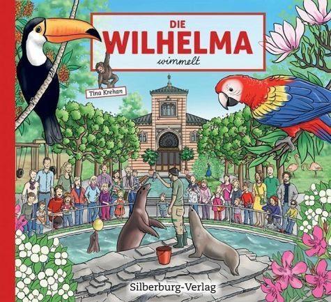 Buch mit Papp-Einband »Die Wilhelma wimmelt«