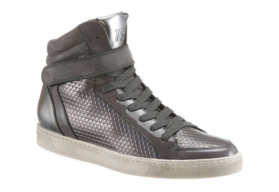 Paul Green Sneaker in grau-silberfarben