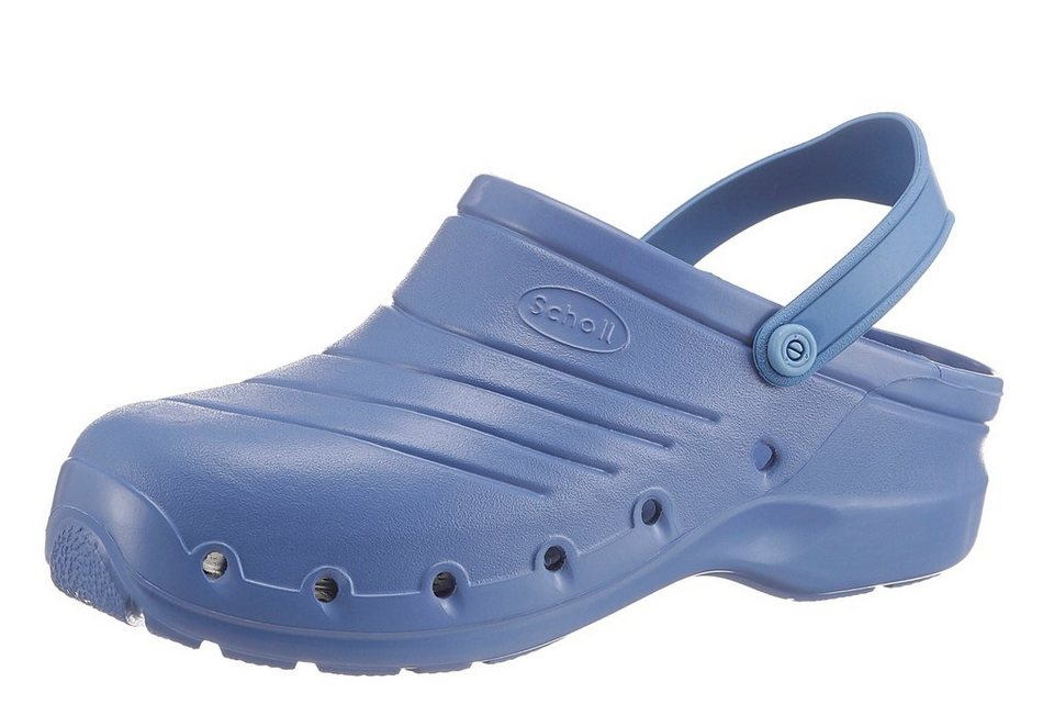 Scholl Clog »Work Light« Sicherheitsklasse 2 in blau