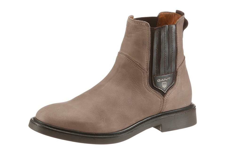 Gant Footwear Chelseaboots in taupe