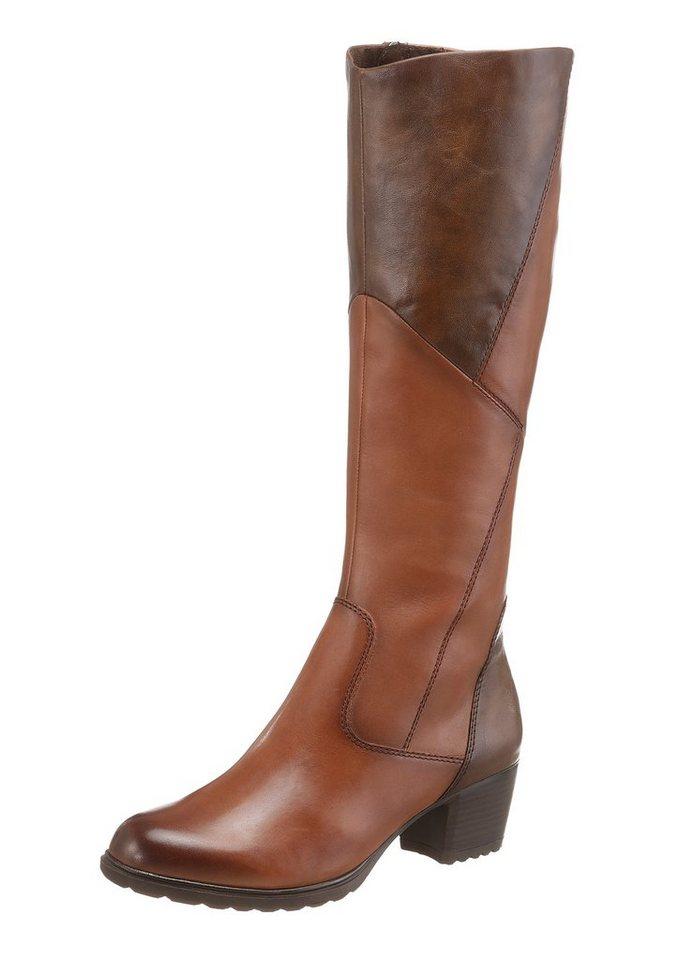 Tamaris Stiefel mit XL-Schaft in braun