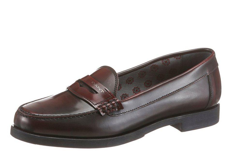 Gant Footwear Slipper in bordeaux