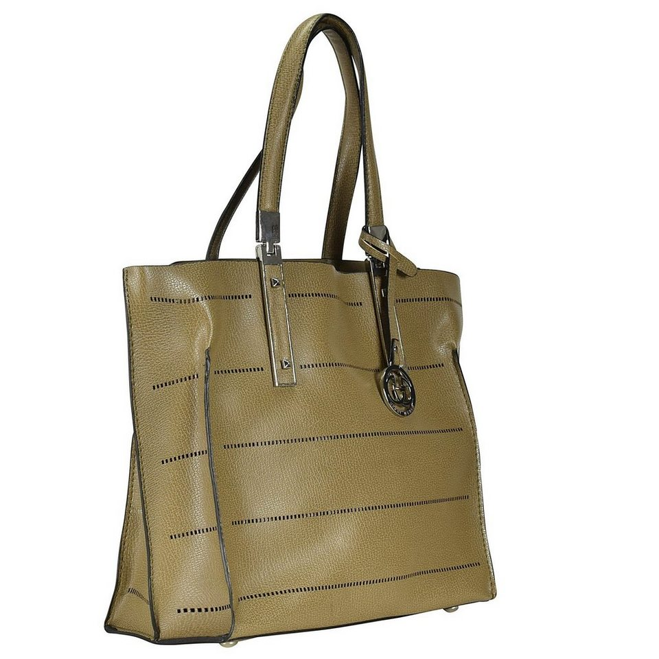 Gerry Weber Follow Me Schultertasche 25 cm in taupe