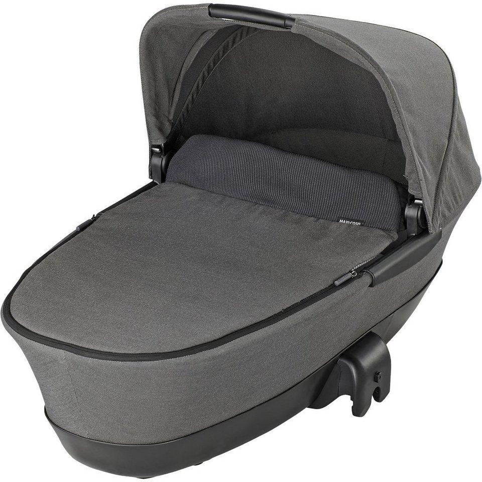 Maxi-Cosi Kinderwagenaufsatz Dana, Mura und Mura Plus 4, faltbar, conc in grey denim