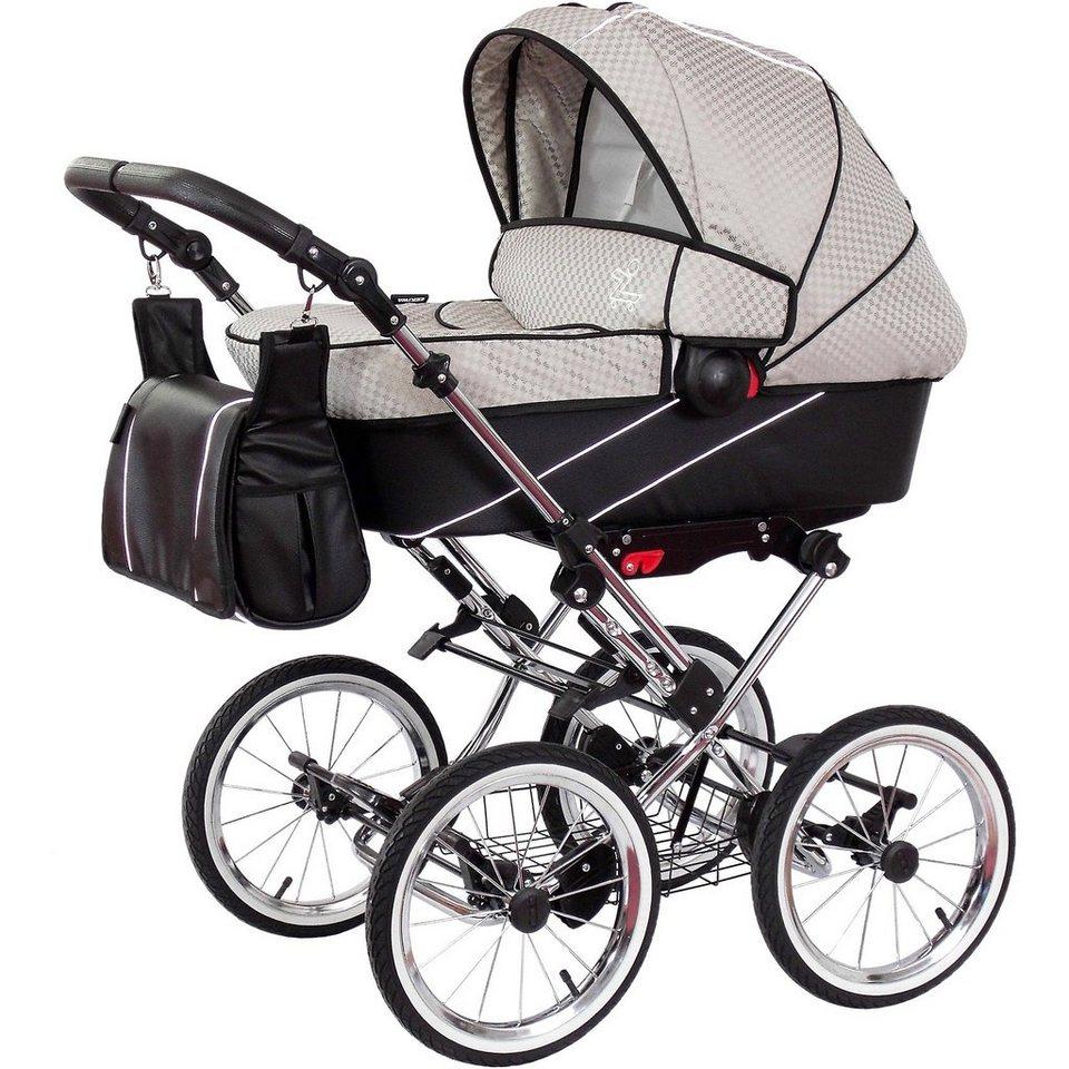 zekiwa kombi kinderwagen tramper minikaro grey schwarz online kaufen otto. Black Bedroom Furniture Sets. Home Design Ideas