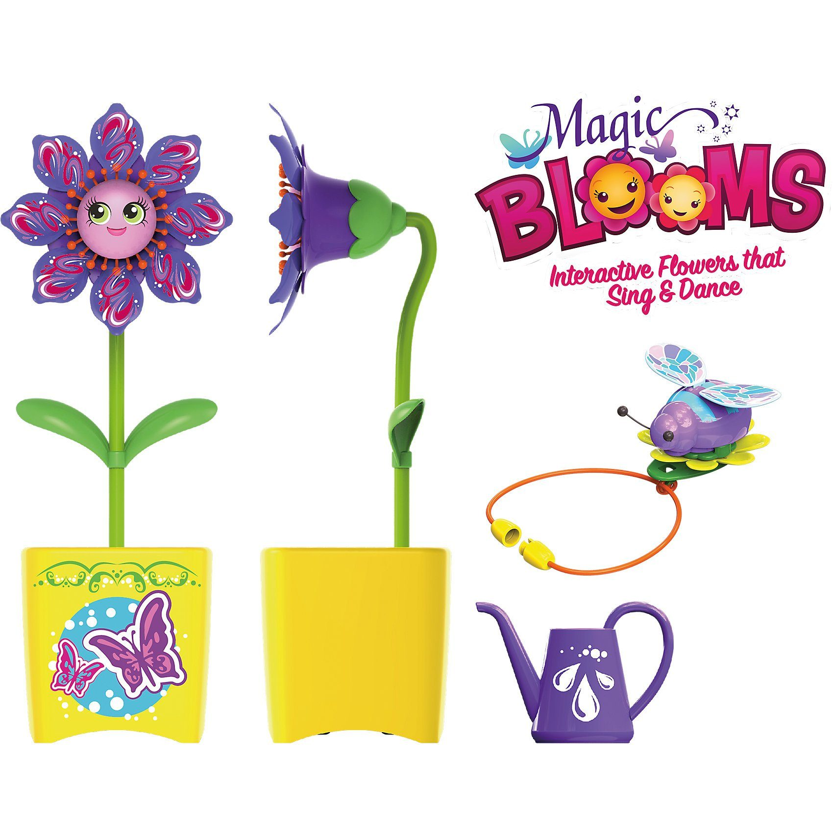 Silverlit Magic Bloom pink + Magic Bug Biene