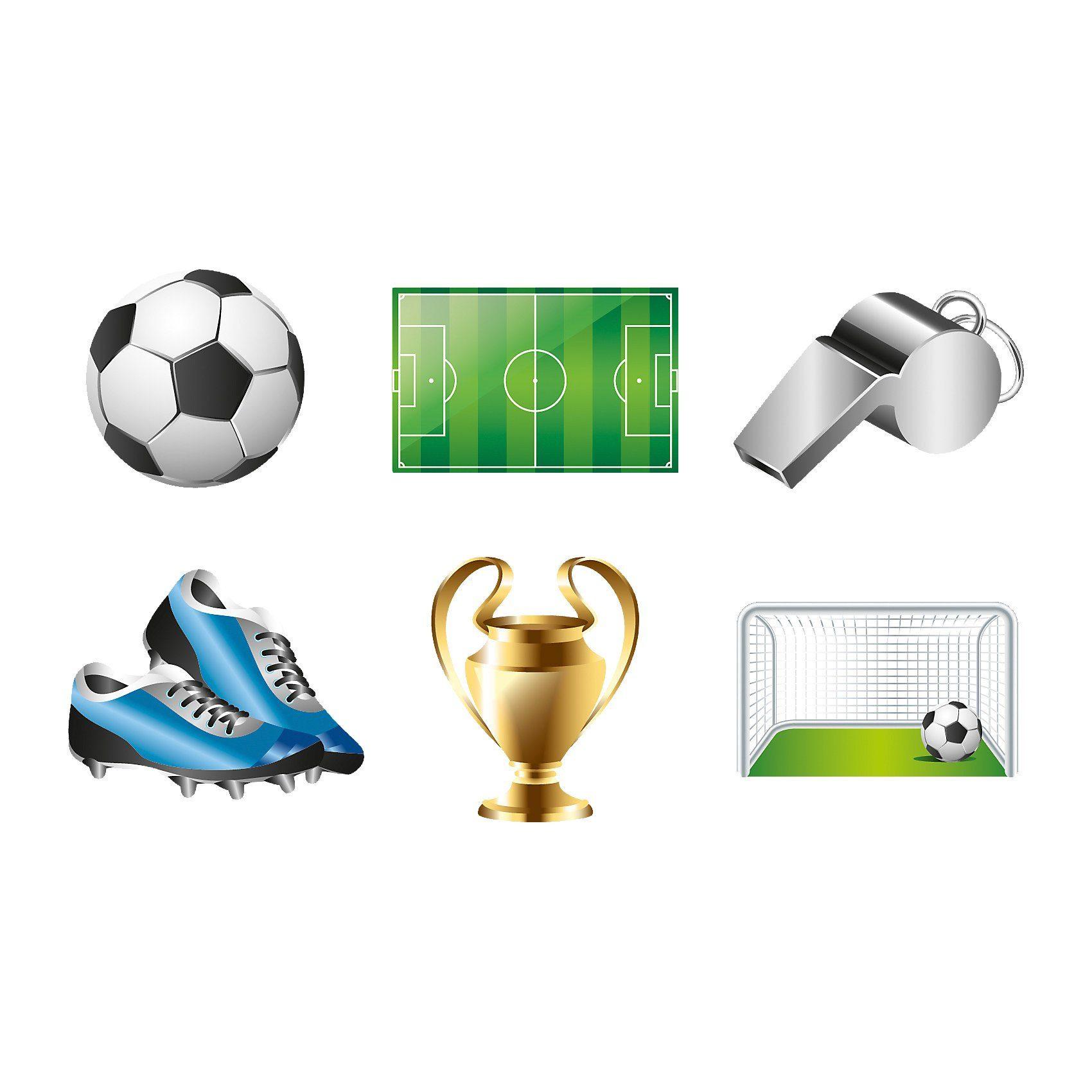 Amscan Tattoo Sticker Fußball
